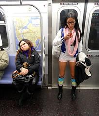 Sleepy (Michelle Di Rocco) Tags: street nyc newyorkcity urban subway downtown metro pantless nycsubway pantsless manhanttan manhattansubway pantlesssubwayride pantslesssubwayride pantlesssubwayridenyc
