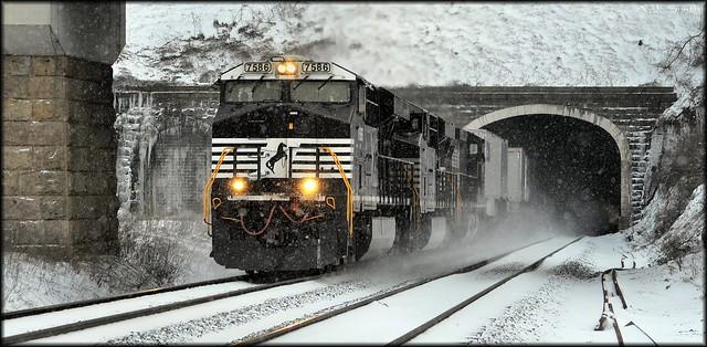 Gallitzin:  West Portal, Allegheny Tunnel