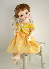 Dollmore Aga in Yellow (elizabeth's*whimsies) Tags: bjd tinybjd miasbabydoll dollmoreaga