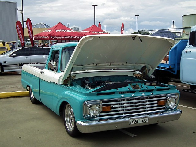 ford up f100 1966 nsw newsouthwales pick castlehill castletowers allamericanday