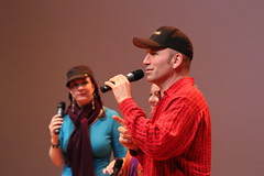 David Word teaches the crowd the basics of beat boxing (Bay Area Discovery Museum) Tags: sausalito bayareadiscoverymuseum sovoso worldonstage martinlutherkingjrdaycelebration