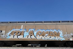 4pla,Global (DirtyToes!!!) Tags: graffiti steel rails dts global hoppers sxe eaters 4pla