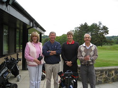 CLT Golf Team with client Jose at Matlock Golf Club