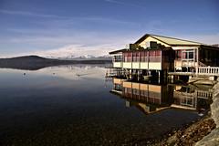 la casa sul lago (mat56.) Tags: lake reflections lago landscapes casa day piemonte biella riflessi paesaggi viverone housa mat56 pwpartlycloudy