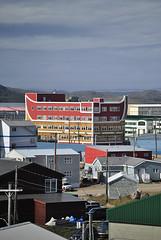 Downtown Building (annakettu) Tags: canada arctic baffinisland iqaluit august2010