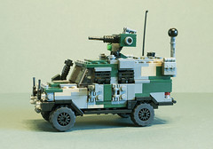 C404 Wolfhound (2) (Aleksander Stein) Tags: light volvo lego military vehicle purpose patrol multi iveco wolfhound sentry armoured tactical ndc rws c404 m226 ampv