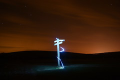(Roryfuller) Tags: light haven long exposure head trails valley beachy cuckmere
