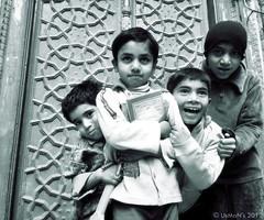 Umeed e Sehr (Rana Usman) Tags: pakistan love kids affection joy happiness getty optimism ambition greyscale islamabad rajabazar