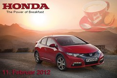 The Power of Breakfast (hondafugel) Tags: honda werbung frhstck civc fugel