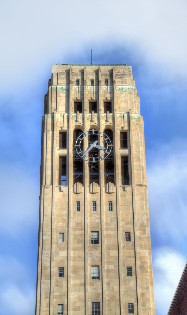 Burton Memorial Tower in Ann Arbor, Michigan