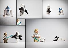 A Star Wars Story (n.shipp12) Tags: light closeup canon toy toys starwars lego 7020028l strobe 60d