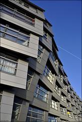 "blok 16  ""The Wave"" (leuntje) Tags: netherlands architecture explore flevoland thewave almere renevanzuuk weerwater almerestad blok16"