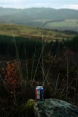 View Point (iiisecondcreep) Tags: winter nature trash forest canon landscape scotland highlands scenery tay litter perth rubbish 60mm viewpoint crieff aberfeldy irnbru amulree canonefs60mmf28 400d perthkinross a826
