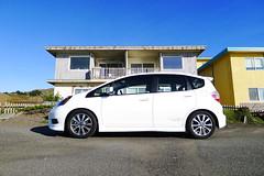 2012 Honda Fit Sport / MT * 2 (aaronwtong) Tags: auto california leica white cars lumix panasonic pacifica 2012 tein lx5 hondafitsport ge8 teinstech