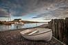 Porlock Weir Harbour (_ justintheframe_) Tags: sunrise boat nikon harbour somerset rowing gettyimages porlockweir tonemappped d300s justintheframe