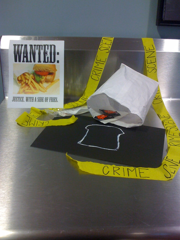 Wanted: Justice. With a Side of Fries.