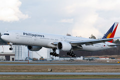 Philippines | Boeing 777-36N/ER | RP-C7777 (Patrick Lundgren) Tags: sea sky canada vancouver plane airplane island photography flying airport aircraft air tail philippines flight wing jet engine 7 columbia richmond international british boeing yvr triple runway airliner rudder jetliner cyvr 77736ner rpc7777