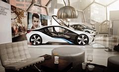 Mission Impossible (Luuk van Kaathoven) Tags: car rotterdam 4 ghost bmw mission concept van impossible protocol i8 i3 luuk luukvankaathovennl kaathoven