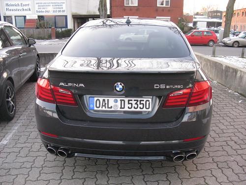 BMW Alpina D5 Biturbo F10 - a photo on Flickriver