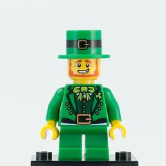 Lego Minifigures Series 6 Leprechaun by Brick Resort, on Flickr