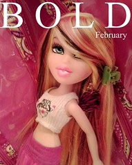 Bold February Starring Stevie Laces (•Caboose•) Tags: black magazine hair eyes pretty dolls modeling 33 stevie ninja first blonde february blondie unicorn sparkly epic laces oink bold poptart debut starring bratz patten paisly monthy gorgy