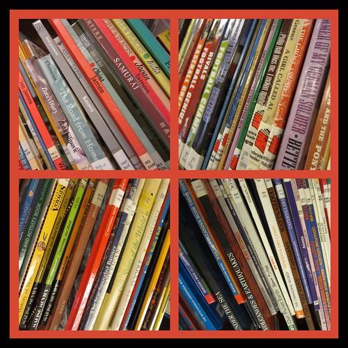 book log cabin quilt patchwork