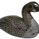 "<b>Canada Goose</b><br/> Samwillie Iqaluk (1925-1993) ""Canada Goose"" Stone, ca. 1972 LFAC #1994:01:20<a href=""http://farm8.static.flickr.com/7166/6852408585_a6a17378b4_o.jpg"" title=""High res"">∝</a>"