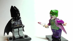 Lego Batman vs The Joker (Mcshipmaster) Tags: fun fight lego watching have batman joker vs bam legobatmancustoms