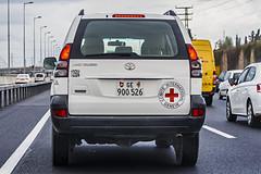 CH GE 900526 (rOOmUSh) Tags: auto white car flickr swiss toyota landcruiser redcross icrc nogeotag avtonomer
