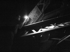Rhett Is Going To Climb The Old Railroad Bridge To Get Video Of Us Running Below!