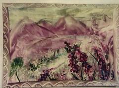 image (Gregelope) Tags: colour beautiful cards artwork textures craftwork encausticart