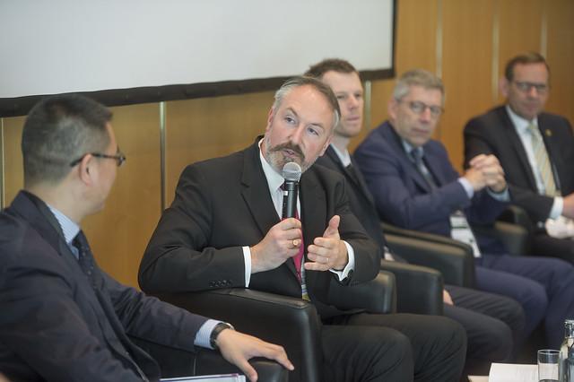 Christian Doepgen responds to a question about smarter freight