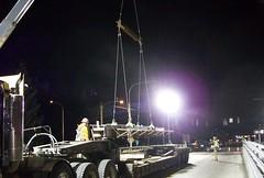 Berkeley Street girder delivery (WSDOT) Tags: army washington i5 center medical lakewood madigan dra wsdot