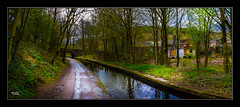 Huddersfield Narrow Canal (Kevin From Manchester) Tags: bridge england building beautiful architecture canal village historical waterways saddleworth canon1855mm greatermanchester uppermill huddersfieldnarrowcanal kevinwalker canon1100d