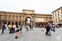 Piazza della Repubblica (andrea.prave) Tags: toscana tuscany toscane toskana     florencia florence     florenz italia italy      italie italien piazzadellarepubblica