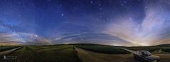 Ciel nocturne (Thierry michel Photos) Tags: longexposure sky panorama night landscape nuit etoile paysages