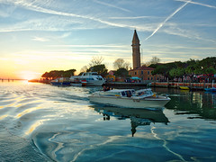 A Smooth Ride Home (Stuck in Customs) Tags: ocean above city pink blue venice red italy orange brown white 3 black color colour green tower water glass horizontal outside outdoors island bay boat town canal gulf purple outdoor lace taxi blowing quad daily gondola february phantom dailyphoto hdr tutorial burano p3 2016 lacemaking dji hdrphotography hdrphoto stuckincustoms northeastitaly treyratcliff p2015 fc300x