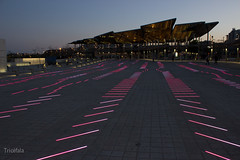 Flicr62015.jpg (Tricfala Photo) Tags: barcelona night noche arquitectura edificios agbar
