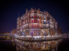 Low lights, high colors & starry night (karinavera) Tags: longexposure travel colors amsterdam night hotelleurope nikond5300