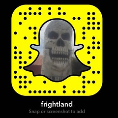 Snap us? #Frightland #Snapchat #HauntedAttraction #Delaware (frightland) Tags: new house philadelphia pennsylvania maryland haunted jersey horror delaware attractions scariest frightland