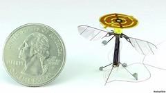 """จิ๋วแต่แจ๋ว! นักวิจัยฮาร์วาร์ดพัฒนา """"โดรนผึ้งกล"""" บินเกาะได้เหมือนแมลงเพื่อประหยัดพลังงาน     ทีมนักวิจัยของมหาวิทยาลัย Harvard พัฒนาโดรนขนาดเล็กจิ๋วที่เรียกว่า RoboBees หรือ """"โดรนผึ้งกล"""" ซึ่งมีขนาดเล็กพอๆ กับผึ้งงานและหนักเพียง 100 มิลลิกรัม  http://nucle"""