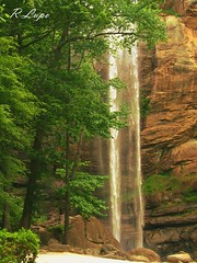 Toccoa Falls, Toccoa, Georgia (R.F. Lupo (random off and on-ness, more off)) Tags: trees brown nature water pool beautiful beauty waterfall rocks quiet natural stones peaceful falls serene toccoafalls toccoageorgia