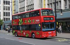 BYD1473 Metroline (KLTP14) Tags: electric double 98 brandnew metroline byd 16reg lj16ezo