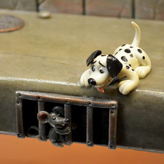 101 Dalmatians In Marzipan [Szentendre - 6 December 2015] (Doc. Ing.) Tags: dogs puppy square rat hungary marzipan hu szentendre 2015 101dalmatians marzipanmuseum centralhungary daltmatian