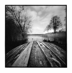 Filby Broad - 2016 (Andrew Bartram (WarboysSnapper)) Tags: 6x6 square norfolk pinhole hp5 ilford zero2000 rollfilm norfolkbroads filby silvergelatin darkroomprint id1111 mgfb believeinfilm meoptamagnifac