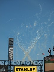 Sox Win! (Brule Laker) Tags: chicago baseball fireworks mlb kansascityroyals uscellularfield americanleague chicagowhitesox