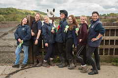 A great team (Sara@Shotley) Tags: horses rural fun team group style riding rda equestrian grooms winners rosettes stables