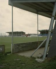 4 (Anders Hviid) Tags: film analog football soccer negative stadion fc fodbold plaubel makina tnder sydvest