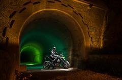 LightMotos_6 (Suso Sinmiedo) Tags: blue lightpainting verde green azul alicante motorbike moto tunel agost pilito vaverdedelmaigm