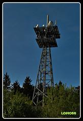 Sendemast Kahlheid (Deutschland) (LOMO56) Tags: towers tours trme torri torres funktrme sendemasten sendetrme towerstorritorrestourstrme gittersendetrme sendemastkahlheid